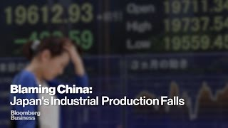 Has China's Slowdown Infected Japan's Production?