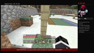 Minecraft episode: Survival anyone want to join just add me