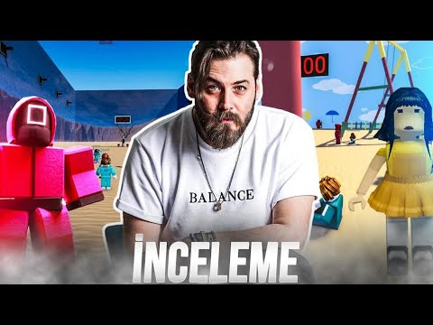 ELRAENN - LİMON TAYFA İLE ROBLOX SQUID GAME OYNUYOR ( İNCELEME )