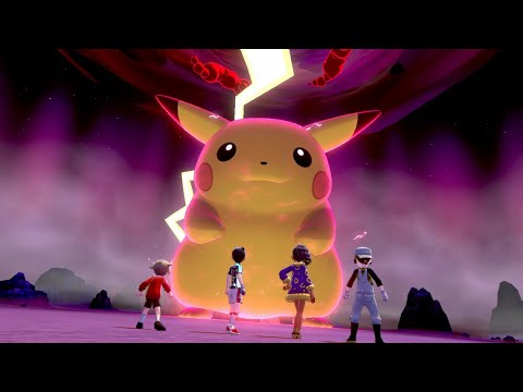 Encounter Gigantamax Pikachu in Max Raid Battles