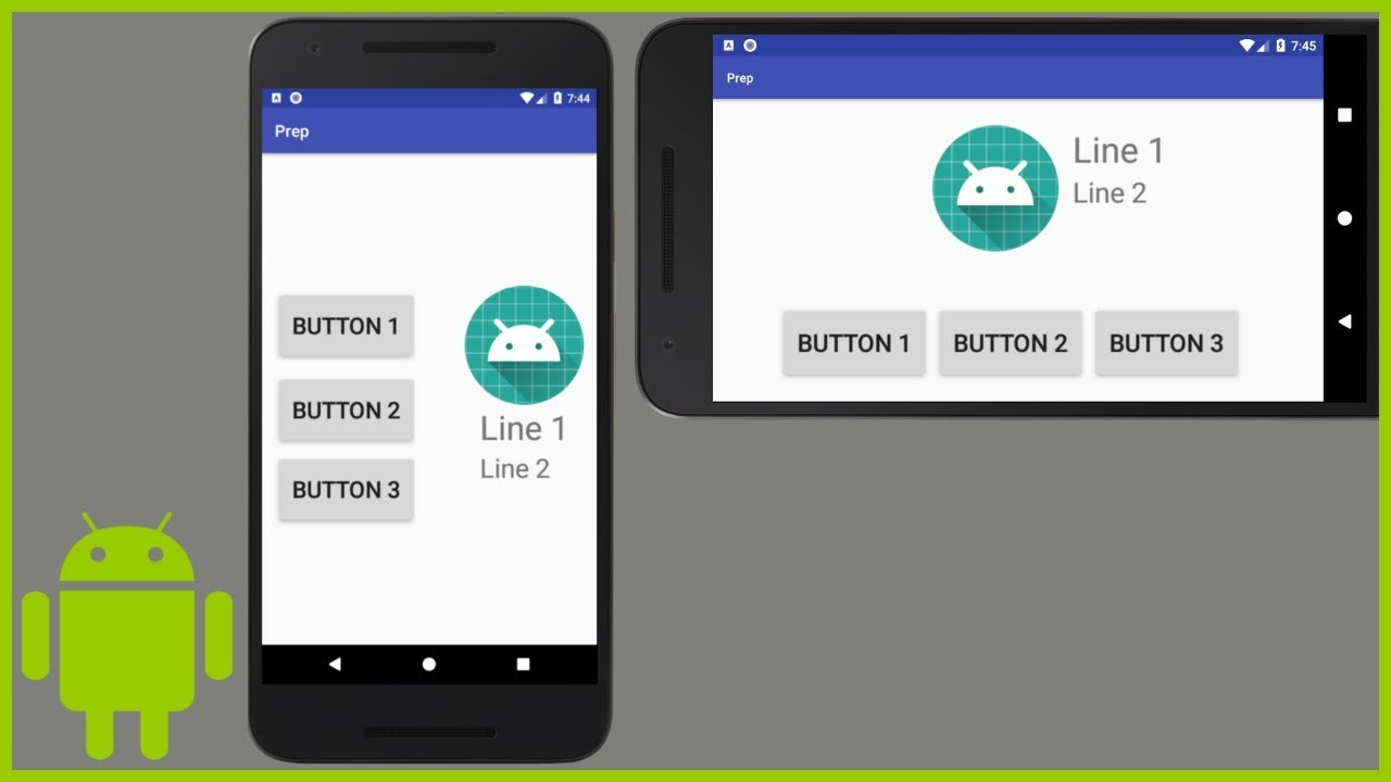 How to Create Separate Layout Files for Landscape Mode and Different Screen Sizes - Android ...