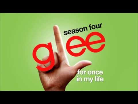 For Once In My Life - Glee Cast [HD FULL STUDIO]
