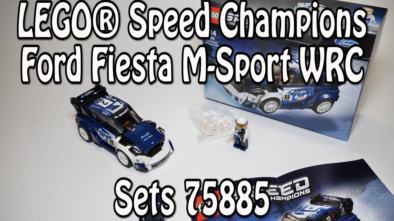 LEGO Ford Fiesta M-Sport WRC (Set 75885 Speed Champions)