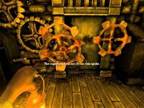 Amnesia The Dark Descent: elevator's machine room puzzle howto