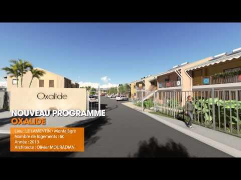 Film 3D - Résidence Oxalide en Guadeloupe