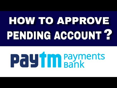 How to Approve Pending Paytm Payments Bank ? Solutions For Pending Paytm  Payments Bank | Hindi
