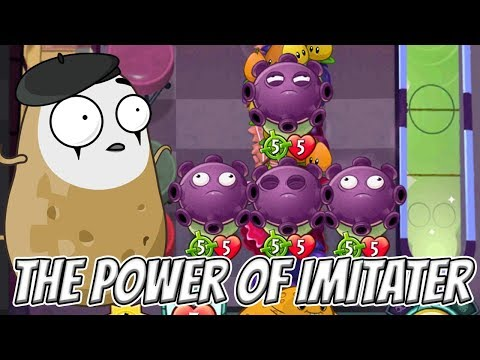 Spudow's Imitater Power! - Plants vs Zombies Heroes Gameplay