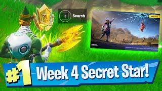 Fortnite Season 10 Week 4 Secret Battle Pass Star Location