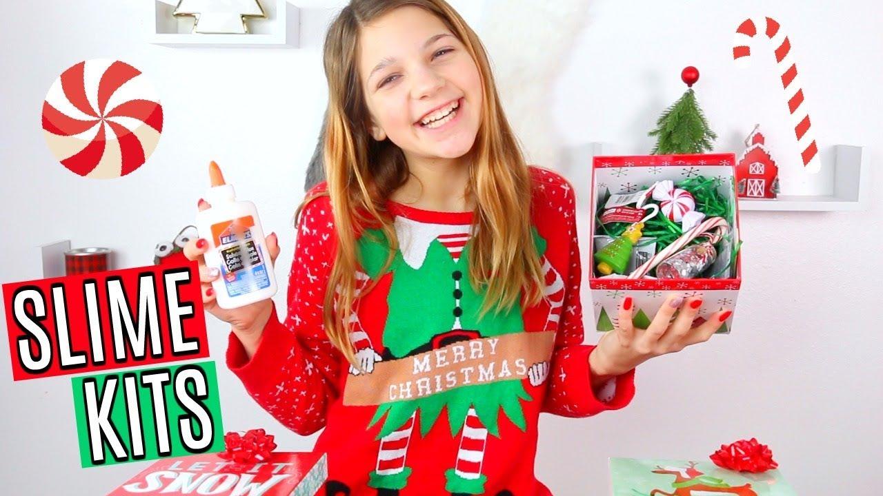 The Perfect Christmas Gift Diy Slime Kits