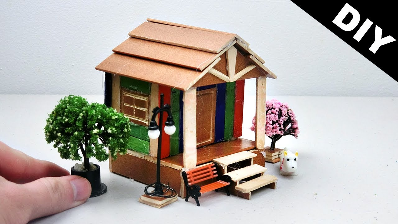 Popsicle Stick Doll House Plans