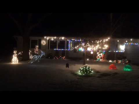 Spectacular Christmas lights of Saginaw County: 1558 Kingston in Saginaw Township