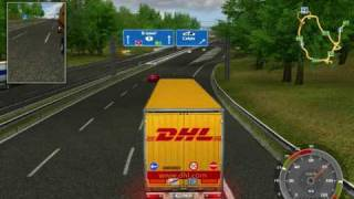 Euro Truck Simulator Gold edition 2009 France - England