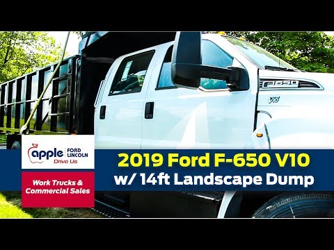 The 2019 Ford F-650 V10 w/ Landscape Dump