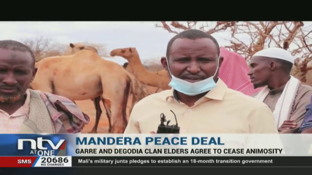Download Garre and Degodia communities of Mandera agree to end animosity
