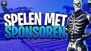 RANDOM DUO'S + MOVING ZONE MET SPONSOREN! | !sponsor !insta