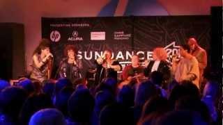 """Twenty Feet From Stardom Singers Live (HD)- """"Speak Lord"""" (Tata Vega) 1-21-13"""