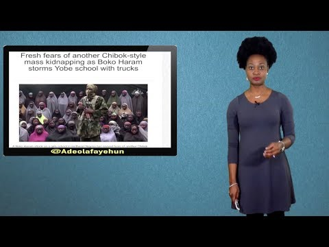 110 Girls Missing; Snake Swallows N36m, Monkey Swallows N70m; Tithe & Today's Christianity