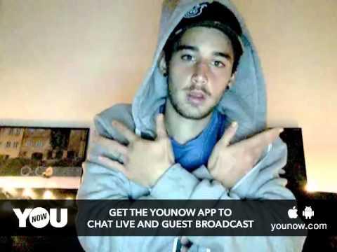 LUKE live on YouNow March 7, 2016