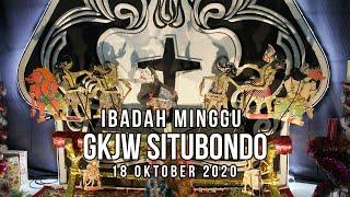 Ibadah Minggu GKJW Situbondo || Sepenuh Hati || 18 Oktober 2020