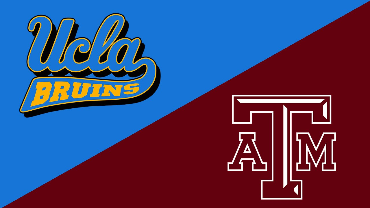 College Football Week 1 Preview UCLA Bruins Texas AM Aggies