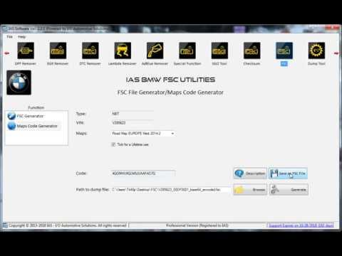 IAS BMW FSC Utilities (IAS Software Ver. 2.2.1)