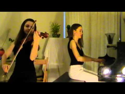 Turkish March (Mozart) - Piano And Violin Duo