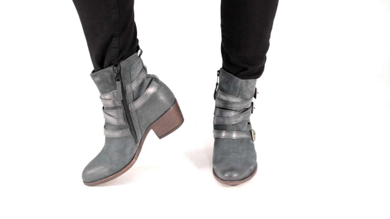 Miz Mooz Darien Buckled Leather Boot