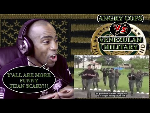 [ANGRY COPS] Venezuela TRIED TO SCARE MARINES [REACTION]