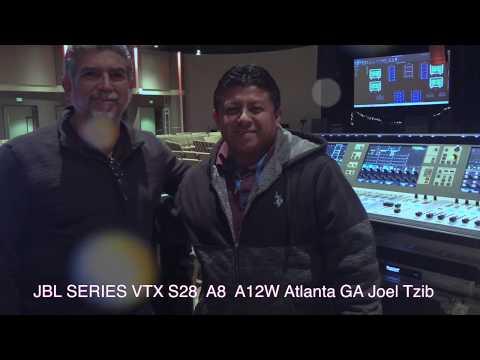 JBL VTX SERIES A12W A8 TESTING Joel Tzib