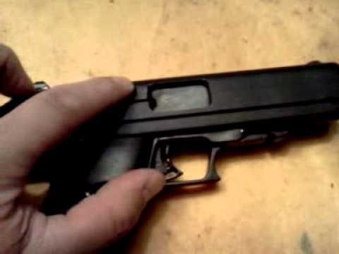HiPoint JHP 45 ACP pistol update ( mods)