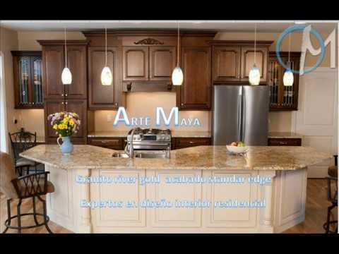Cocinas de granito en el salvador part 2 youtube - Cocinas con encimera de granito ...