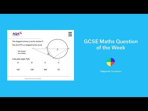 Circle Theorems Gcse Maths Question Of The Week Youtube