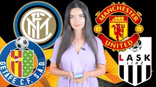 Интер - Хетафе. Манчестер Юнайтед - ЛАСК. Прогноз экспресс Лига Европы 1/8 финала