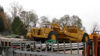 Big machines Caterpillar in italy