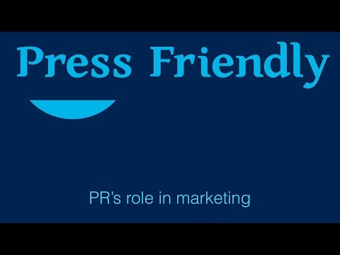 Startup PR: PR's Role in the Marketing Mix