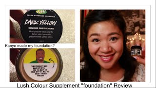 "LUSH Colour Supplement ""foundation"" Review"