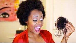 Watch Me Do My 2nd BIG CHOP 18 Months Post LaToya Codner
