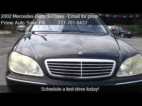 2002 Mercedes-Benz S-Class S500- $2500 DOWN PAYMENT for sale