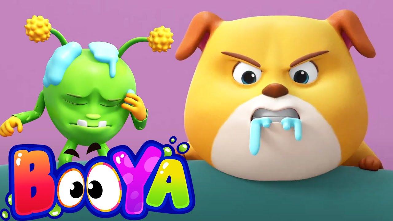 Foodzilla | Funny Animated Videos For Children | Food Fun with Booya Cartoons | Kids Fun