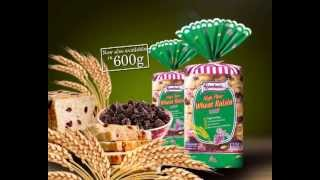 Gardenia High Fiber Wheat Raisin Loaf