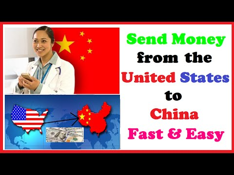 Send Money from the United States to China Fast & Easy - YouTube