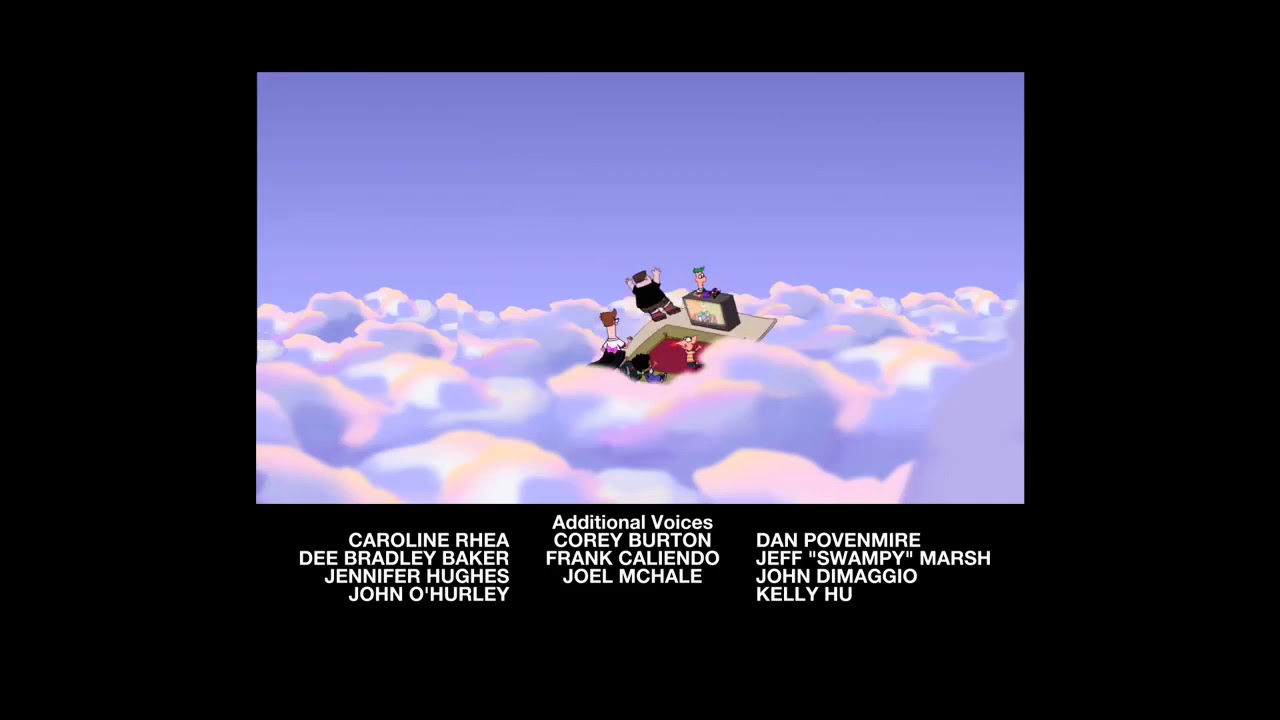 Phineas And Ferb Quot Magic Carpet Ride Quot End Credits Youtube