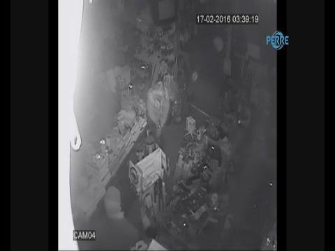 Hırsızlık Güvenlik Kamerasına Yansıdı