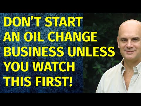 How To Start A Oil Change Business | Including Free Oil Change Business Plan Template