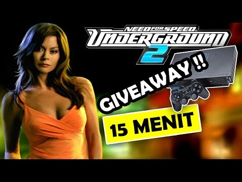 Seluruh Alur Cerita Need For Speed Underground & Underground 2 Hanya 15 MENIT - GIVEAWAY PS2 !!