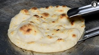 Tawa Naan Recipe (No Oven No Yeast) - Naan without Tandoor - Naan Recipe without yeast
