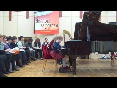 26.03.2018 Mira Marchenko' master-classes, Mariya Belokopytova (7 y.o.), Yekaterinburg