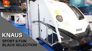KNAUS Sport and Fun - Black Selection (Caravan Salon Düsseldorf)