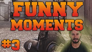 CS:GO - Funny Moments #3 (Rage, insane clutch & more!)