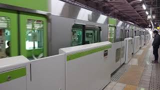 山手線E235系上野駅発車